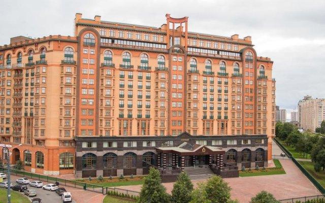 Отель МФК Горный Санкт-Петербург вид на фасад