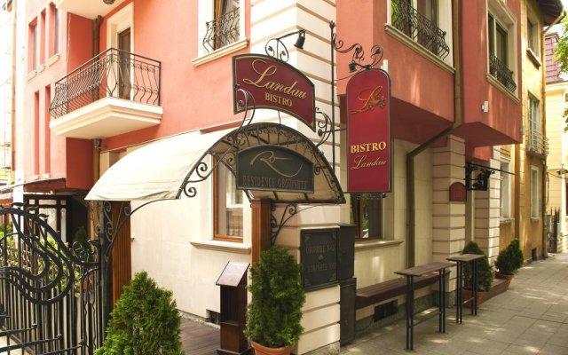 Отель Резиденс София вид на фасад