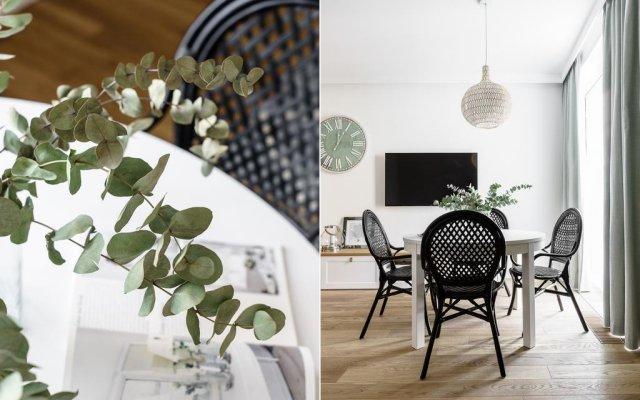 Апартаменты Grand Apartments - Wave Сопот комната для гостей