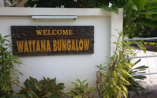 Отель Wattana Bungalow вид на фасад