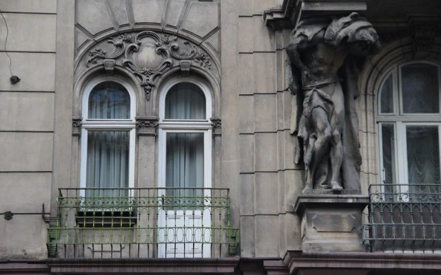 Гостиница Atlant вид на фасад