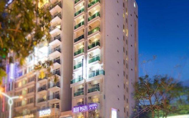 Отель Ruby Tran Phu Street Нячанг вид на фасад