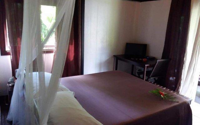 Отель Pension Hibiscus Tahaa комната для гостей