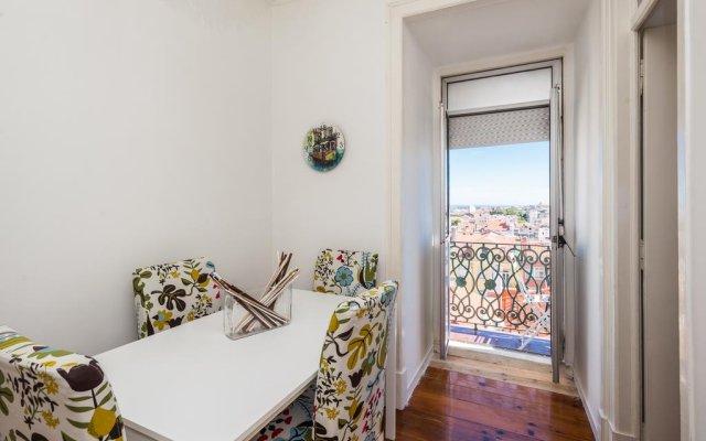 Отель Great view in central Lisbon комната для гостей
