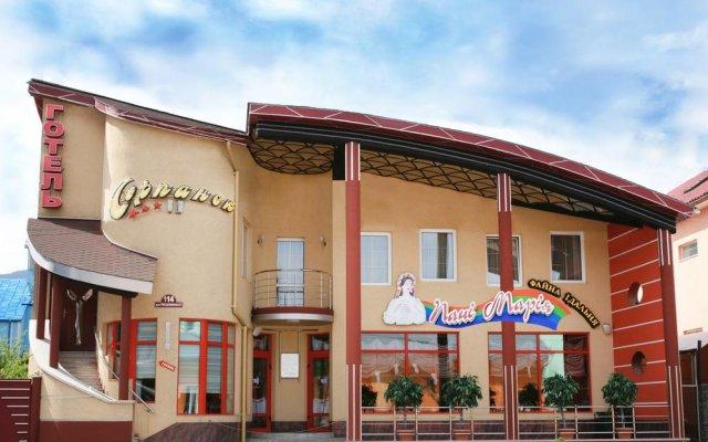 Hotel Serpanok вид на фасад