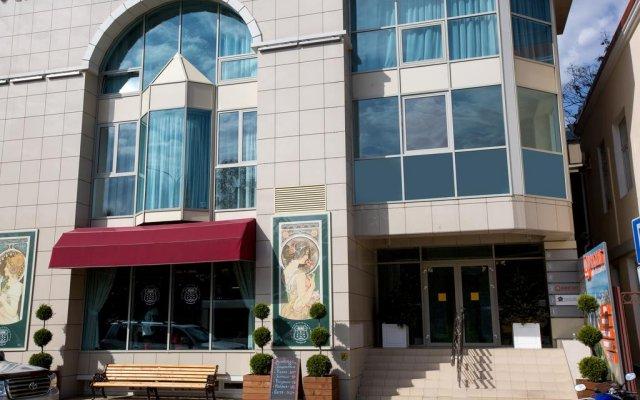 Отель Bass Сочи вид на фасад