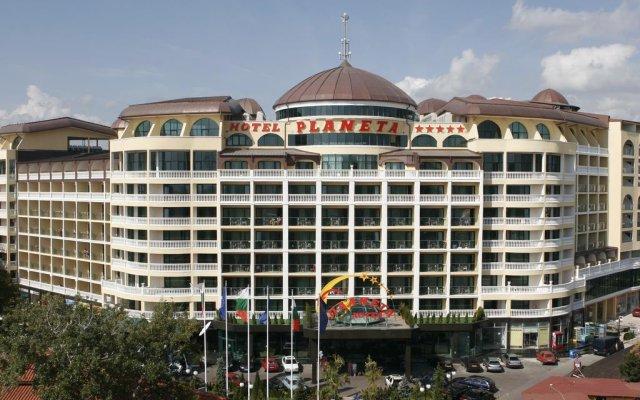 Отель Bulgarienhus Planeta Apartments Болгария, Солнечный берег - отзывы, цены и фото номеров - забронировать отель Bulgarienhus Planeta Apartments онлайн вид на фасад