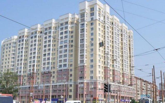 Апартаменты Марьин Дом на Смазчиков 3 вид на фасад