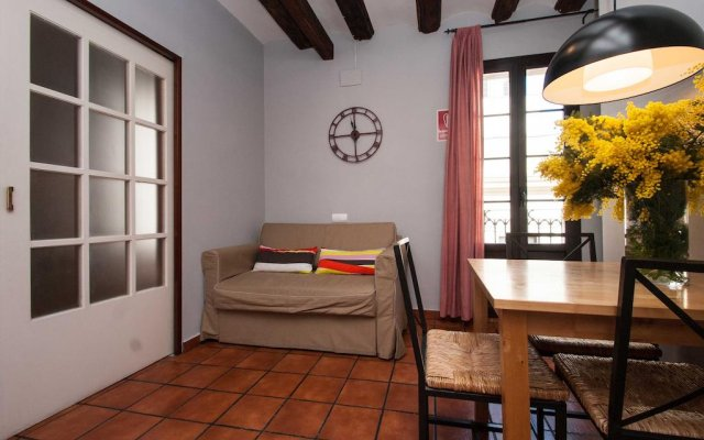 Апартаменты Plaza Real Apartments Барселона комната для гостей