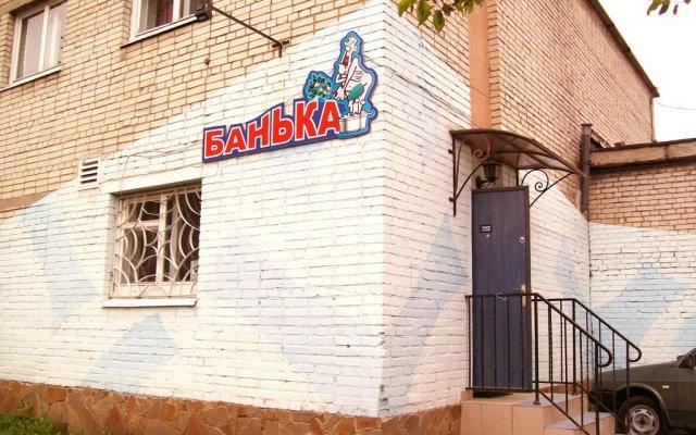 Love Hotel Banjka вид на фасад