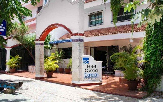 Отель Colonial Cancun Мексика, Канкун - отзывы, цены и фото номеров - забронировать отель Colonial Cancun онлайн вид на фасад