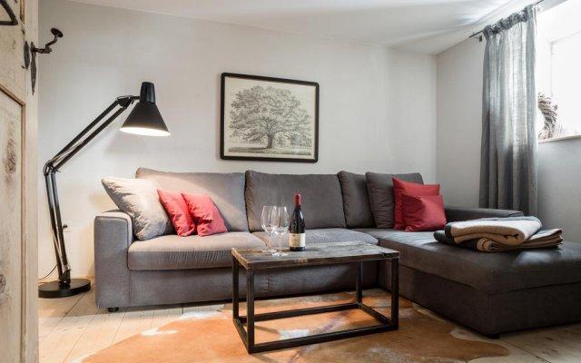 Отель Chalet Hafling Leckplått Авеленго комната для гостей