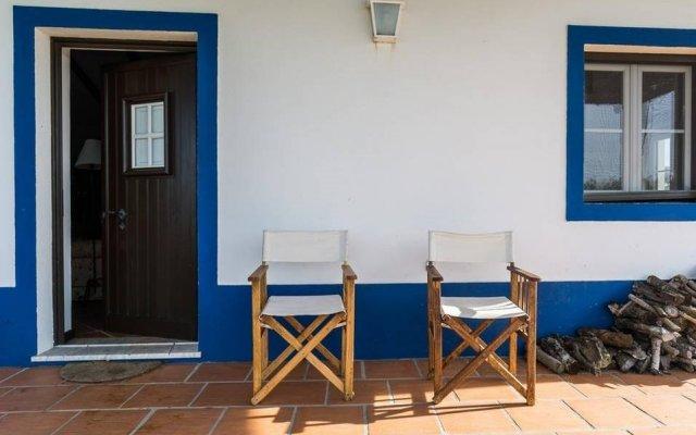 Отель Herdades da Ameira вид на фасад