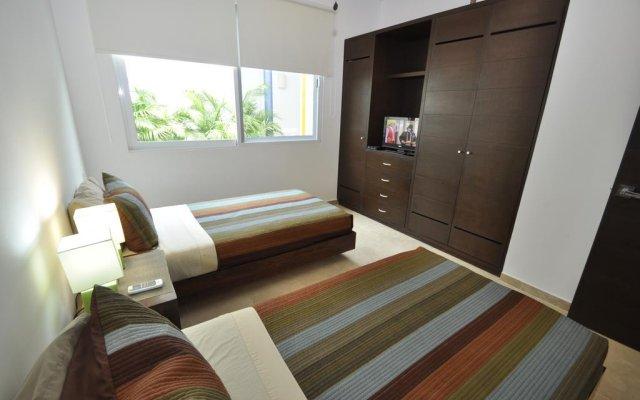 Отель La Papaya Plus 303 - LPP303 Мексика, Плая-дель-Кармен - отзывы, цены и фото номеров - забронировать отель La Papaya Plus 303 - LPP303 онлайн комната для гостей