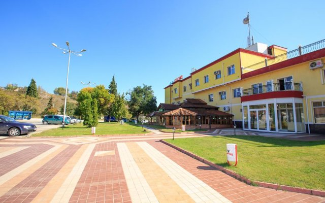Отель Kareliya Complex вид на фасад