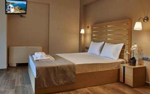 Отель Athos Thea Luxury Rooms Ситония комната для гостей