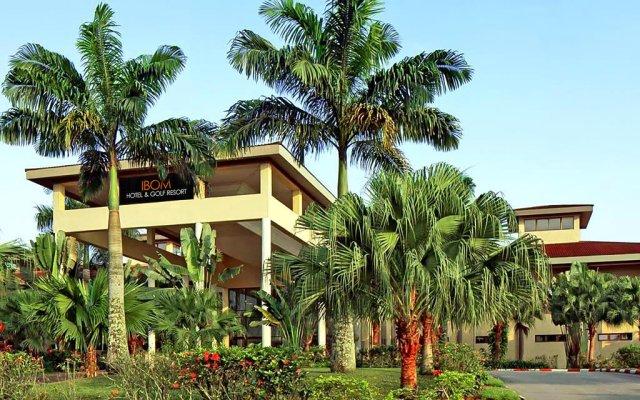 Ibom Hotel & Golf Resort вид на фасад
