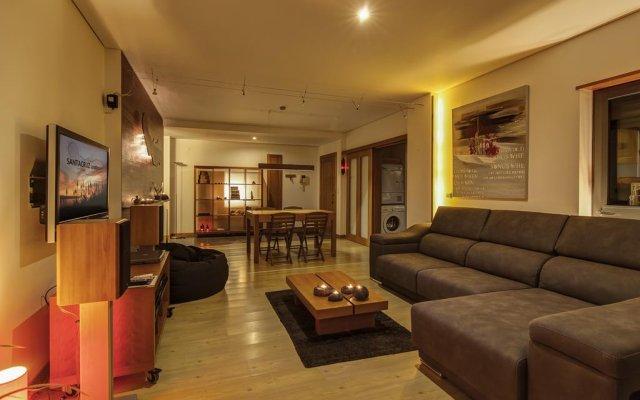 Апартаменты SANTACRUZ apartment комната для гостей