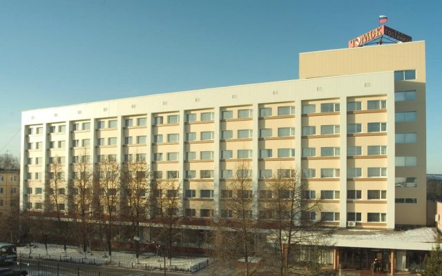 Гостиница Томск вид на фасад