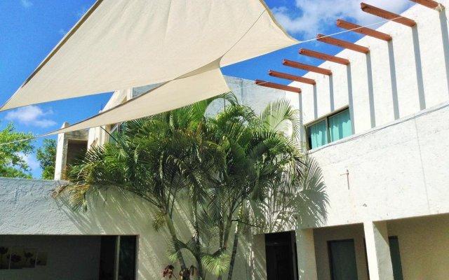 Отель Hostal Ecoplaneta Мексика, Канкун - отзывы, цены и фото номеров - забронировать отель Hostal Ecoplaneta онлайн вид на фасад