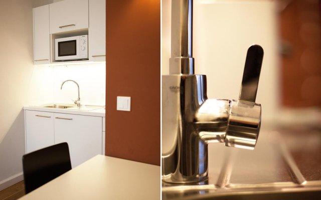 Апартаменты Prater Apartments в номере