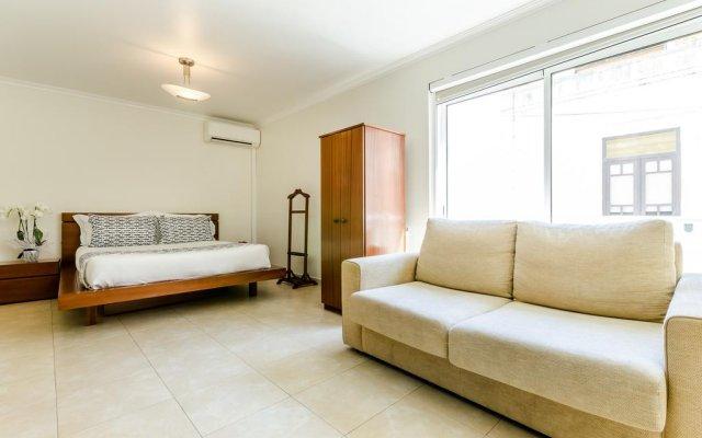 Отель Apartamentos do Mar Peniche Португалия, Пениче - отзывы, цены и фото номеров - забронировать отель Apartamentos do Mar Peniche онлайн комната для гостей