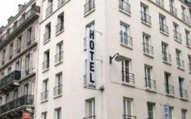 Отель Bertha Париж вид на фасад