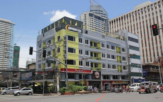 Отель The Corporate Inn Hotel Филиппины, Манила - отзывы, цены и фото номеров - забронировать отель The Corporate Inn Hotel онлайн вид на фасад
