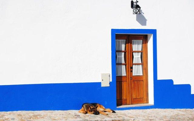 Отель Herdade dos Mestres вид на фасад