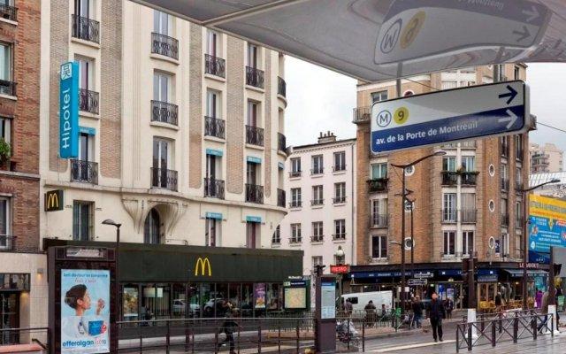 Отель Hipotel Paris Printania Maraîchers вид на фасад