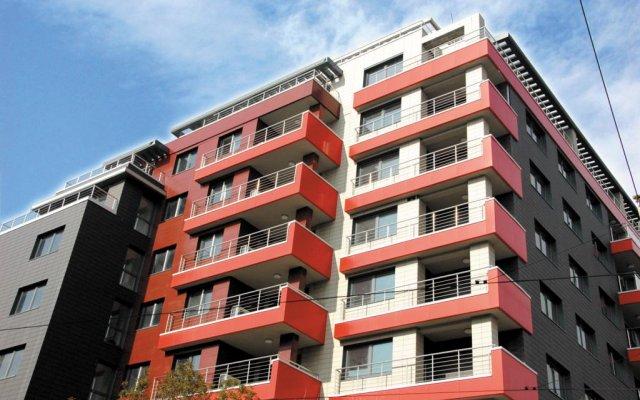 Апартаменты BLVD Apartments вид на фасад