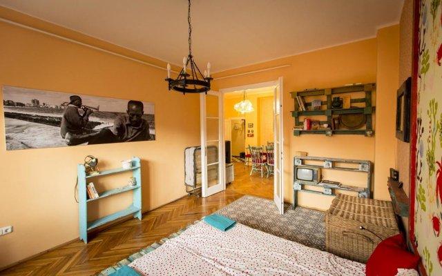 Отель Cosy Art Flat Будапешт комната для гостей