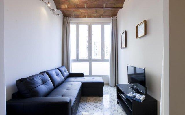 Отель AB Sagrada Familia Bofill Барселона комната для гостей