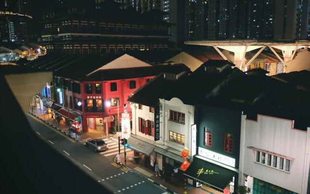 Отель 5footway.inn Project Ann Siang вид на фасад