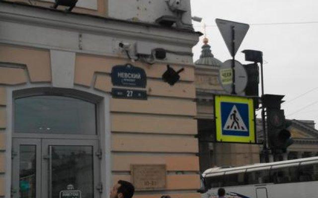 Апартаменты FlatStar Невский 27 вид на фасад