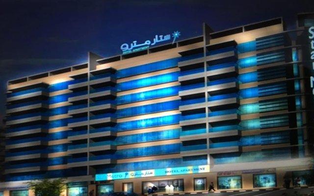 Star Metro Deira Hotel Apartments вид на фасад