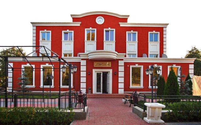Гостиница Лайт вид на фасад