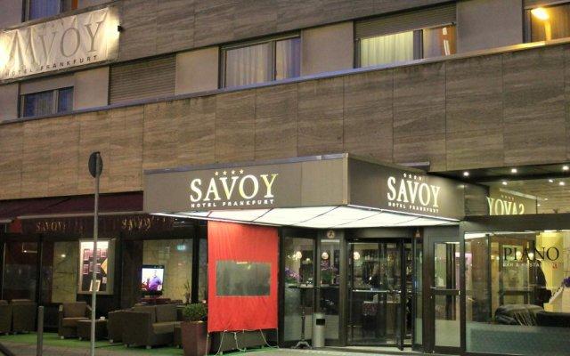 Savoy Hotel Frankfurt вид на фасад