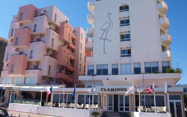 Отель Flamingo Beach Hotel Кипр, Ларнака - 13 отзывов об отеле, цены и фото номеров - забронировать отель Flamingo Beach Hotel онлайн вид на фасад