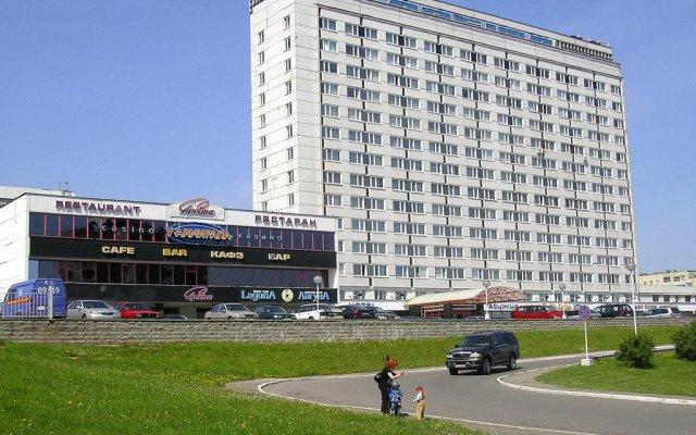 Гостиница Орбита вид на фасад