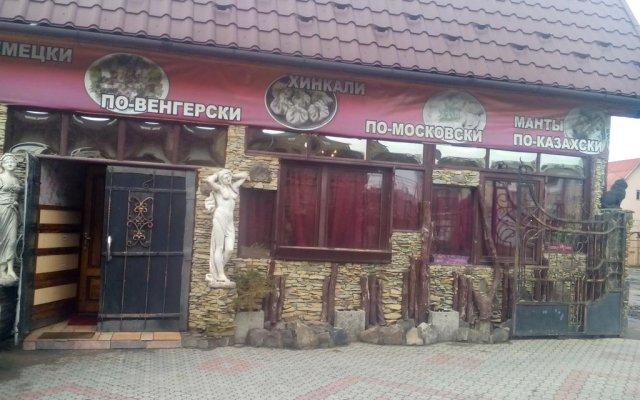 Гостиница Beliy Kakadu вид на фасад