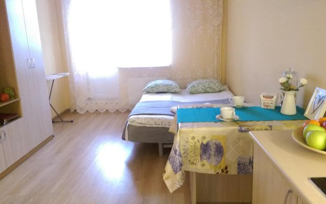 Апартаменты Lesnaya Apartment Санкт-Петербург комната для гостей