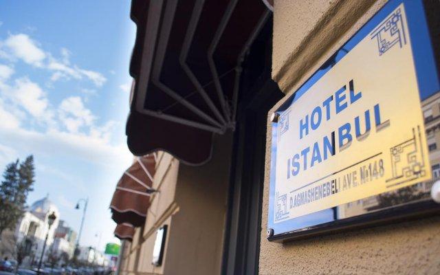 Istanbul Hotel Тбилиси вид на фасад