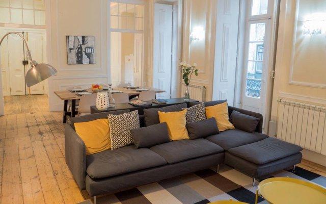 Отель Traveling To Lisbon Chiado Apartments Португалия, Лиссабон - отзывы, цены и фото номеров - забронировать отель Traveling To Lisbon Chiado Apartments онлайн комната для гостей