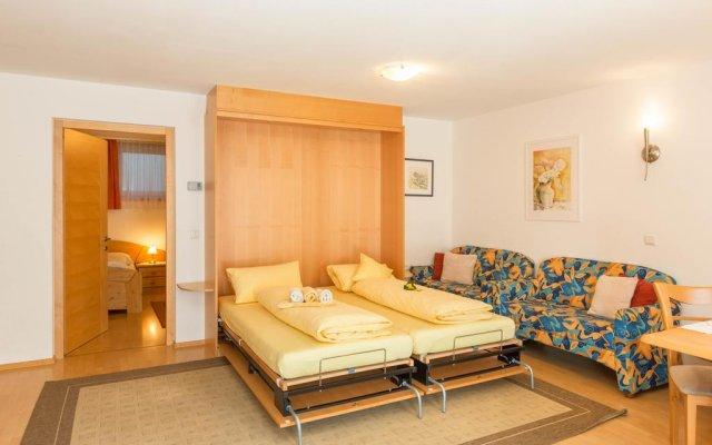 Отель Residence Weisskugel Langtaufers Südtirol Горнолыжный курорт Ортлер комната для гостей