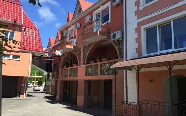 Olimp Hotel вид на фасад