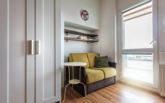 Апартаменты Modern studio Opletalova комната для гостей