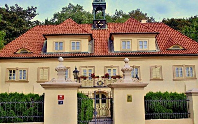 Отель Slaby&Bambur Residence Castle вид на фасад