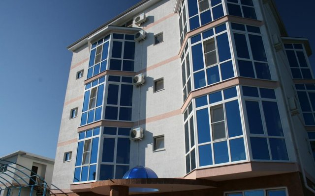 Гостиница Guest House Gornaya Orkhideya вид на фасад