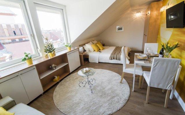 Апартаменты Warm & Friendly Apartment II. Будапешт комната для гостей